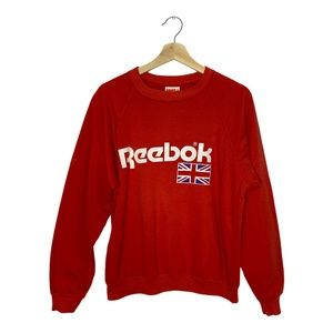 Vintage Reebok Classic Spell Out Crewneck Sweater